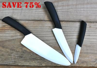 Claim Your Ultra Sharp Ceramic Knife For 75 Off Just
